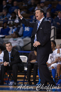 UK womens basketball head coach Matthew Mitchell during the second half of the UK vs. Marist basketball game at Memorial Coliseum on Sunday, Dec. 30, 2012. Photo by Adam Chaffins | Staff