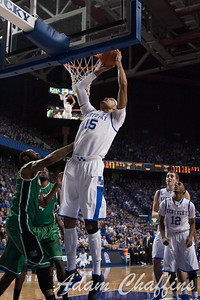 UK freshman forward Willie Cauley-Stein during the first half of the UK vs. Marshall basketball game at Rupp Arena on Saturday Dec. 22, 2012. Photo by Adam Chaffins | Staff
