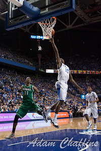 UK freshman guard Archie Goodwin scoring during the first half of the UK vs. Marshall basketball game at Rupp Arena on Saturday Dec. 22, 2012. Photo by Adam Chaffins | Staff