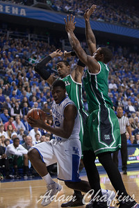 UK freshman forward Alex Poythress during the first half of the UK vs. Marshall basketball game at Rupp Arena on Saturday Dec. 22, 2012. Photo by Adam Chaffins | Staff