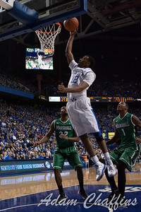 UK sophomore guard Ryan Harrow making a layup during the first half of the UK vs. Marshall basketball game at Rupp Arena on Saturday Dec. 22, 2012. Photo by Adam Chaffins | Staff