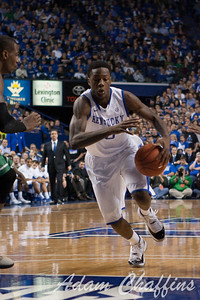 UK freshman guard Archie Goodwin during the first half of the UK vs. Marshall basketball game at Rupp Arena on Saturday Dec. 22, 2012. Photo by Adam Chaffins | Staff