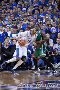UK fresman forward Willie Cauley-stein during the second half of the UK vs. Marshall basketball game at Rupp Arena on Saturday Dec. 22, 2012. Photo by Adam Chaffins | Staff