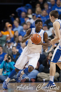 UK freshman guard Archie Goodwin during the first half of the UK vs. Tennessee basketball game at Rupp Arena on Tuesday, Jan. 15, 2013. Photo by Adam Chaffins | Staff