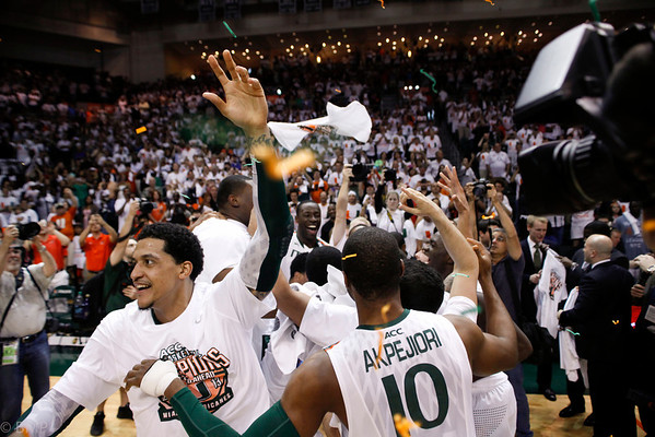 University of Miami MBB ACC Regular Season Champs