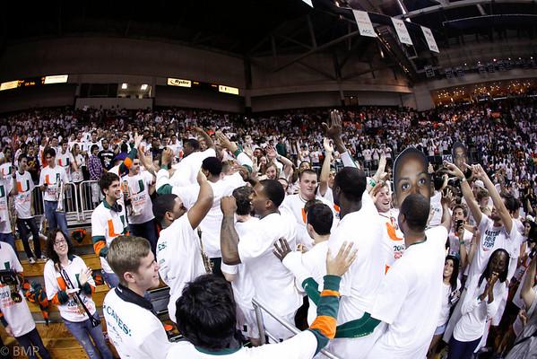 University of Miami MBB ACC Regular Season Champs