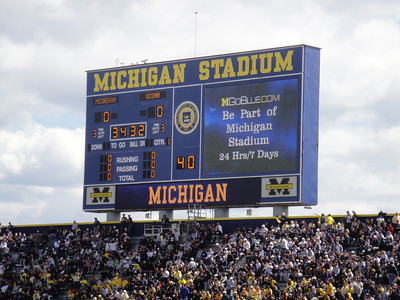 Michigan Stadium Re-Dedication