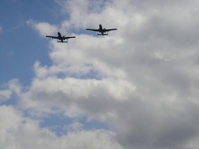 A-10 Wartthogs from Selfridge Air National Guard Base