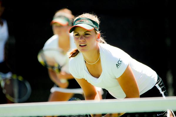 University of Miami Women's Tennis vs Clemson