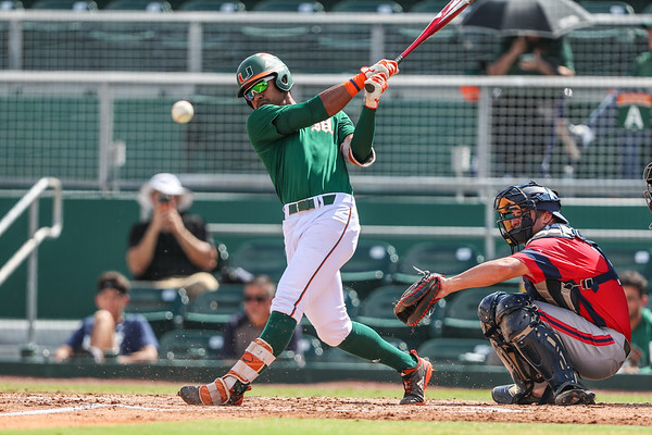2018 University of Miami Baseball Fall Game.