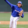 UMass Lowell vs UMBC baseball. UML pitcher Andrew Ryan (37).  (SUN/Julia Malakie)
