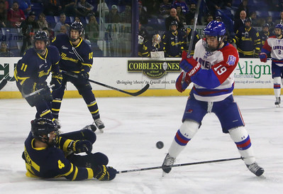 UML hockey vs Merrimack College 120916