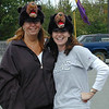 Karen and I sporting our black bear hats in 2002