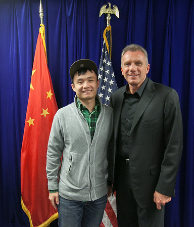 US Consulate in Shanghai Evening Program with Joe Montana - November 14