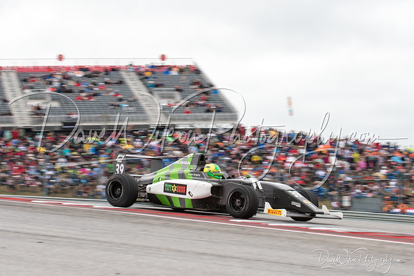 Racing at Circuit of the Americas, Austin during United States Grand Prix weekend, 2017