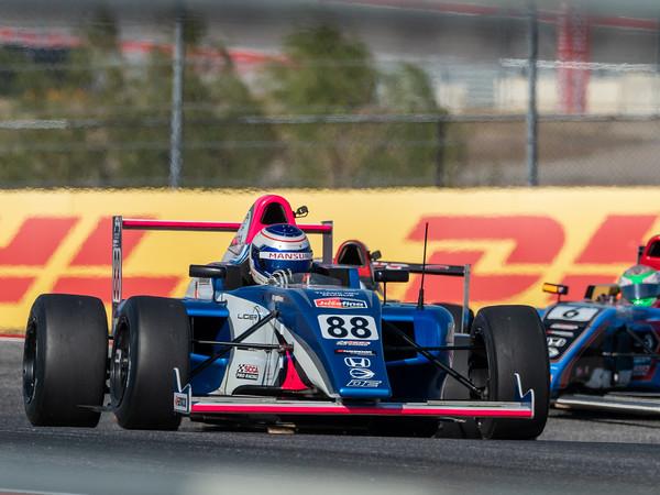 US F4 Racing at COTA