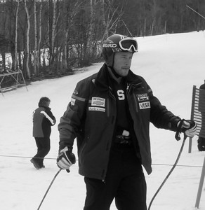 Bode Miller, before Saturday's DH at Nationals 3/25/06