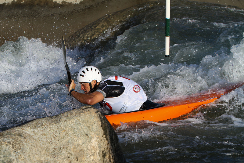 2012 U.S. Olympic Trials for Canoe Slalom and 2012 Canadian Olympic Trials - Day 2