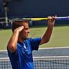 What is becoming Youzhny's signature salute to the crowd when he wins.