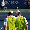 They are a perfectly matched Men's Doubles Team in every way -- they think and move in harmony and aggressive efficiency on the court.