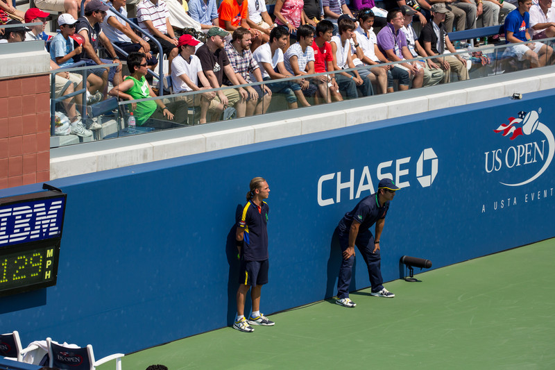 Court 17 at the 2012 US Open