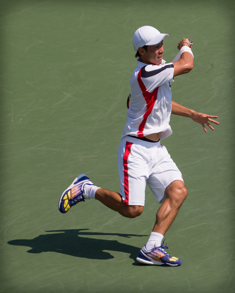 Kai Nishikori at the 2012 US Open