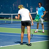 Victoria Azarenka on practice courts