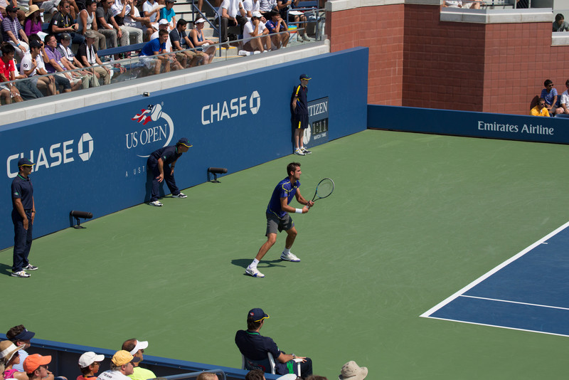 Marin Cilic at the 2012 US Open