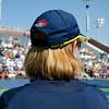Lineswoman<br /> Dominika Cibulkova vs. Johanna Larsson<br /> Round 1<br /> 6-7, 6-2, 6-0