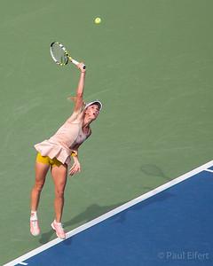 Cariline Wozniaki at the 2014 US Open