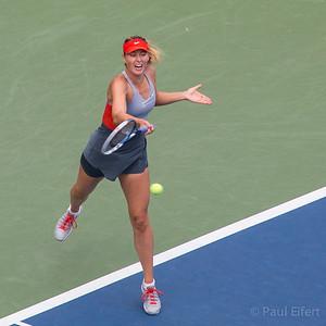 Maria Shrapova at the 2014 US Open