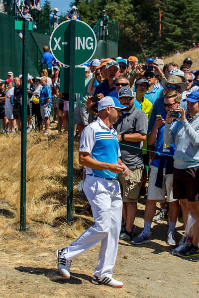 Sergio Garcia, PGA, US Open 2015, Chambers Bay Golf Course