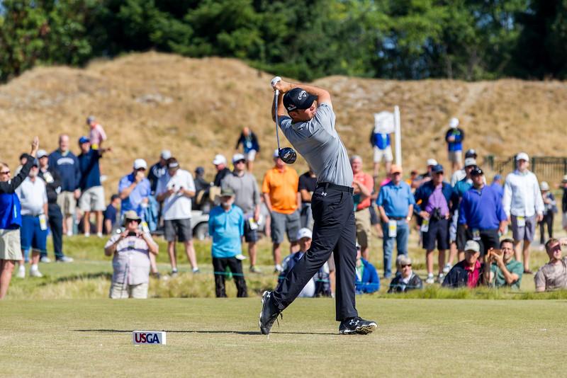 Gary Woodland, PGA, US Open 2015, Chambers Bay Golf Course
