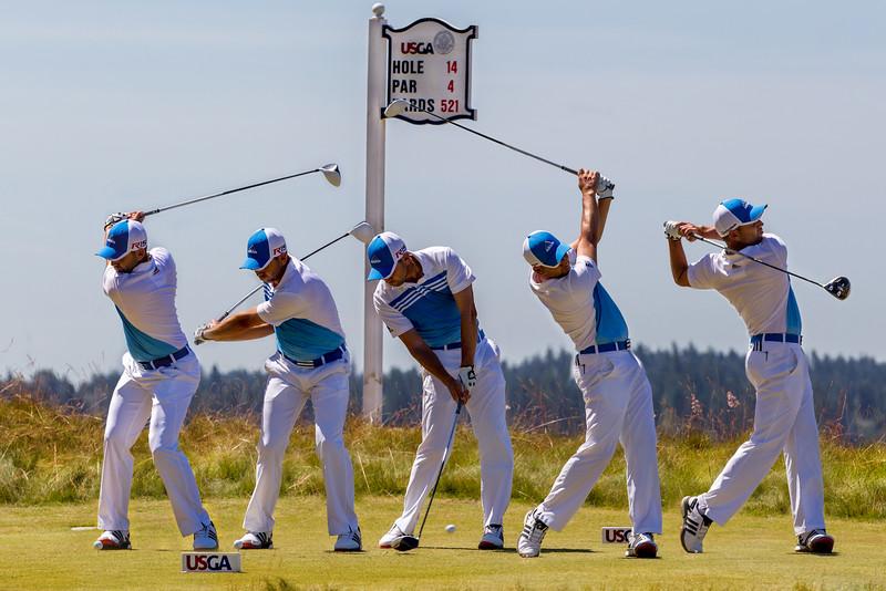 Sergio Garcia, 2015 US Open, Chambers Bay Golf Course