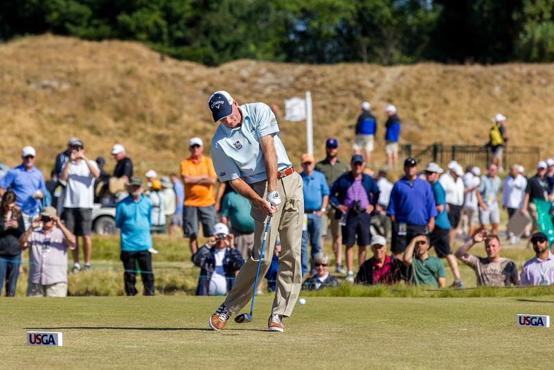 Jim Furyk, PGA, US Open 2015, Chambers Bay Golf Course