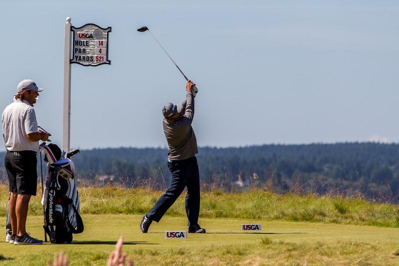 Angel Cabrera, PGA, US Open 2015, Chambers Bay Golf Course