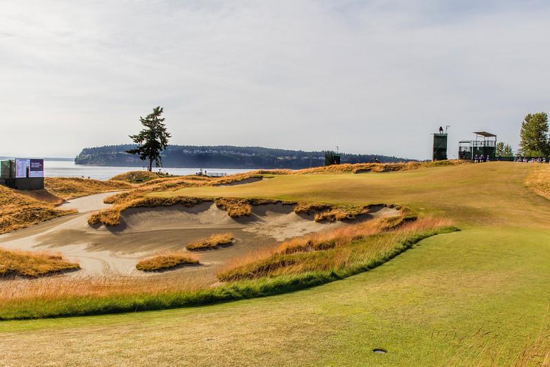 Hole #3, Chambers Bay, US Open Championship