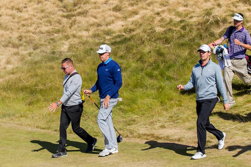 Hunter Mahan, Sean Foley, Rory McIlroy, US Open 2015