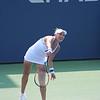 Andrea's opponent Elena Vesnina