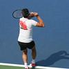 Milos Raonic practice