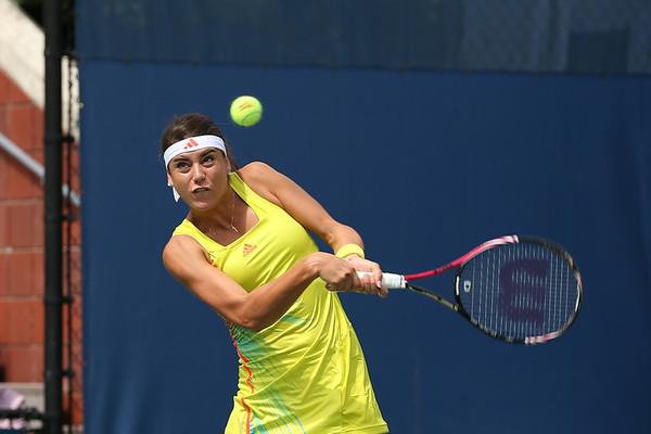 US Open Tennis 2012 Cirstea v Lisicki