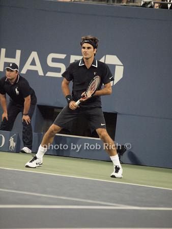 Roger Federer<br /> photo  by Rob Rich © 2010 robwayne1@aol.com 516-676-3939