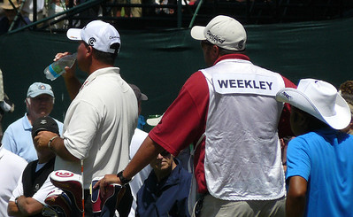 Weekley takes a sip US Open golf 080612 P1440190