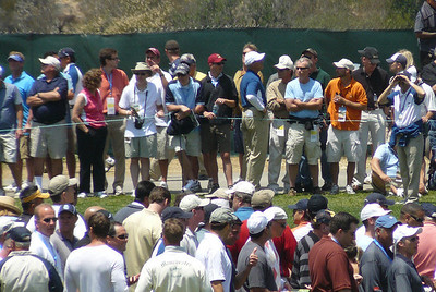 Look that way - no that way US Open golf 080612 P1440209