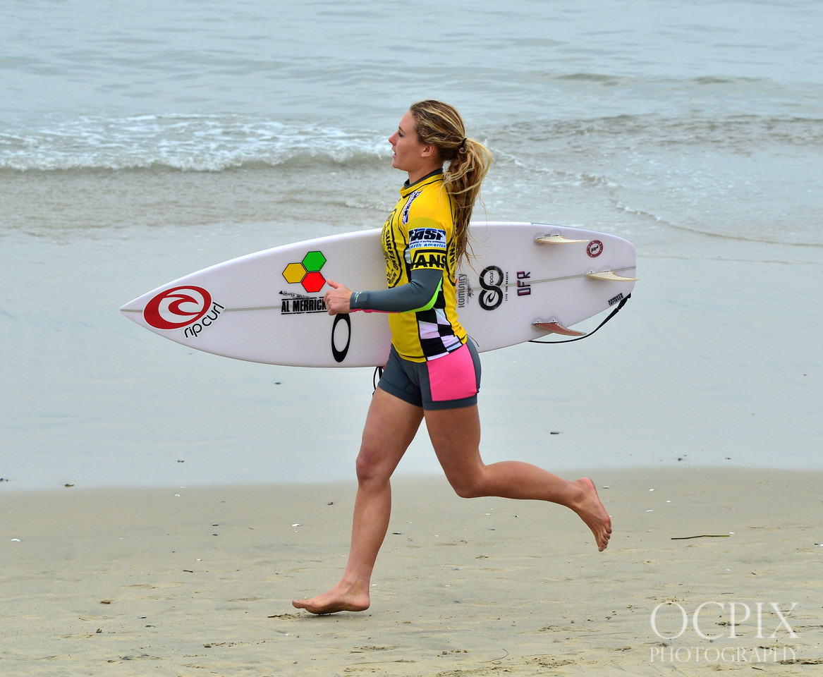 Surfer at the 2013 US Open of Surfing