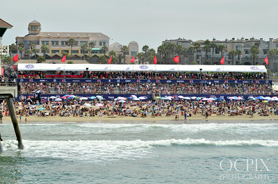 U.S. Open of Surfing grandstands