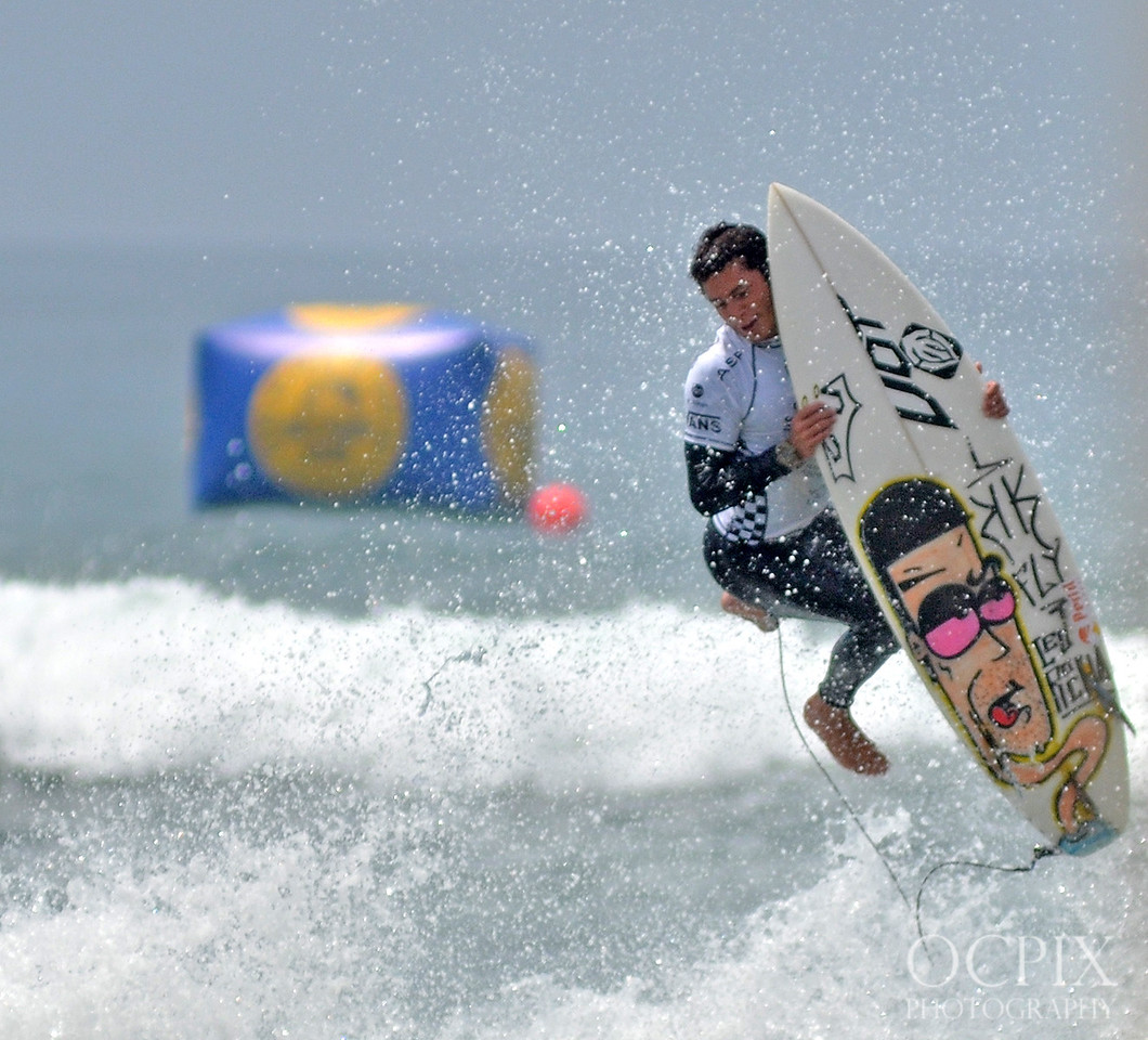 Krystian Kymerson at the US Open of Surfing