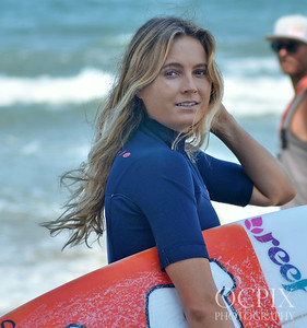 Alana Blanchard close up