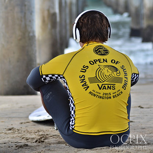 Vans US Open of Surfing Pro Surfers 2015