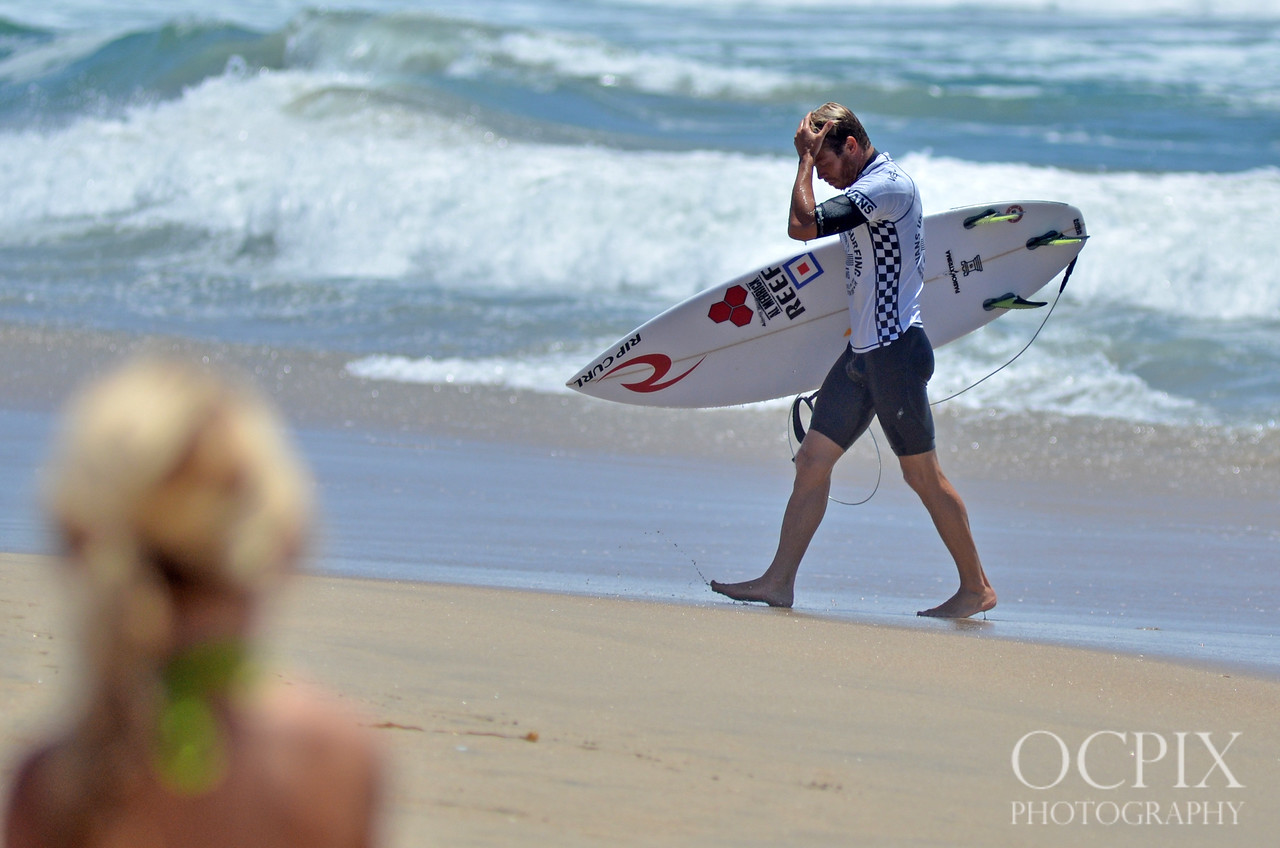 Lele Usuna at the 2015 Vans US Open of Surfing